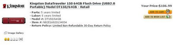 DT150 64GB - Retail