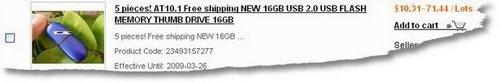 16GB-AT101Cost
