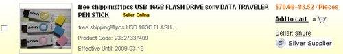 16GBSonyDataTravelerPastel-Cost