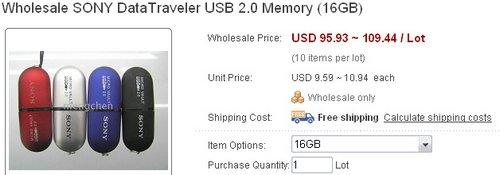16GBSonyKingston-MicroVault-Cost