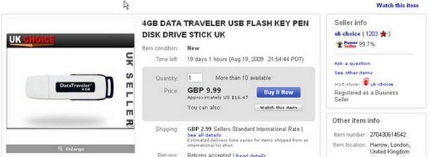 uk-choice-changes 8GB to 4GB on eBay