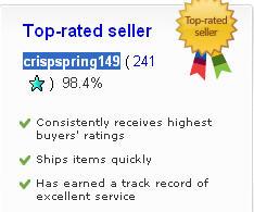 crispspring149eBayTopRatedSeller
