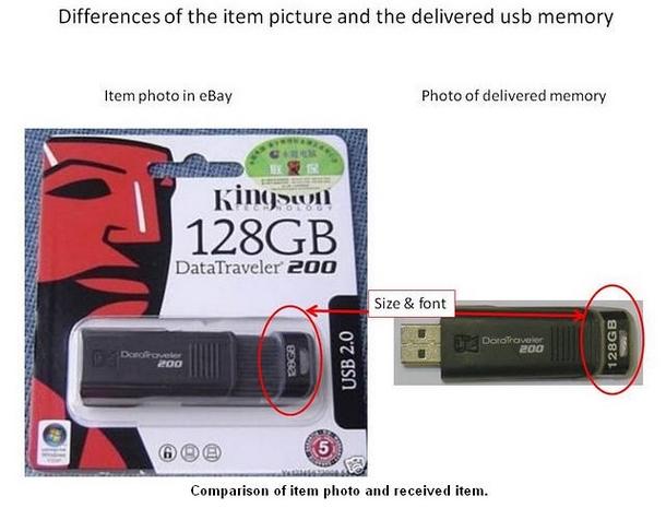 eBay DT200 Fakes