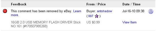 hill-item aka hit-item - eBay Censor